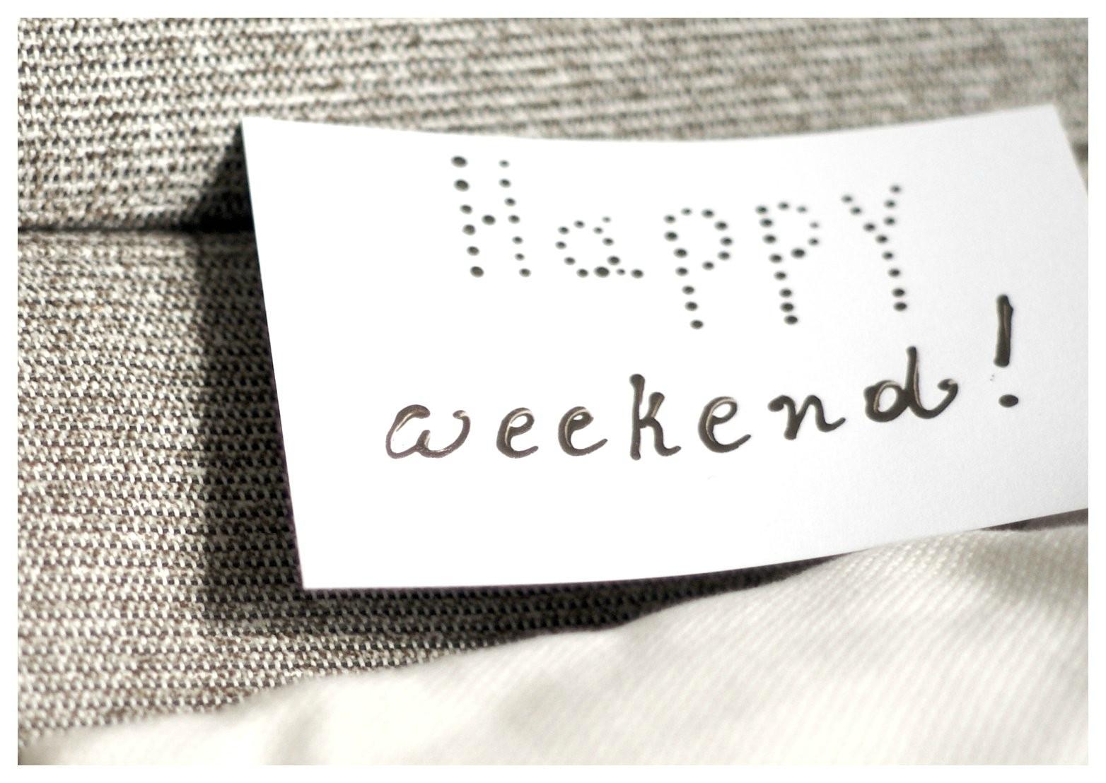 Kommendes Wochenende