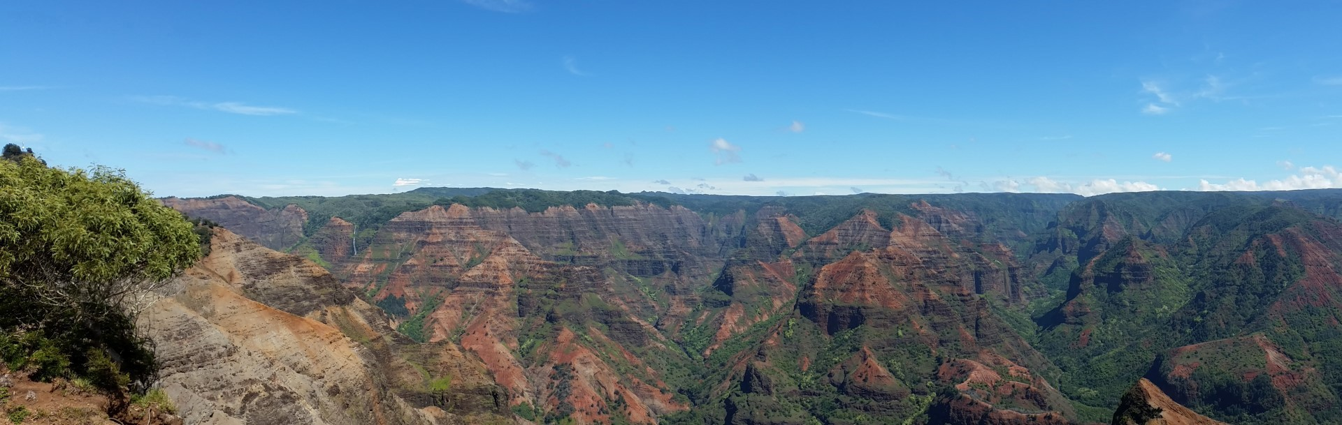 Hawaii Tag 25: Waimea Canyon, Kokee State Park, Kalalau Valley Lookout (2014-10-20)