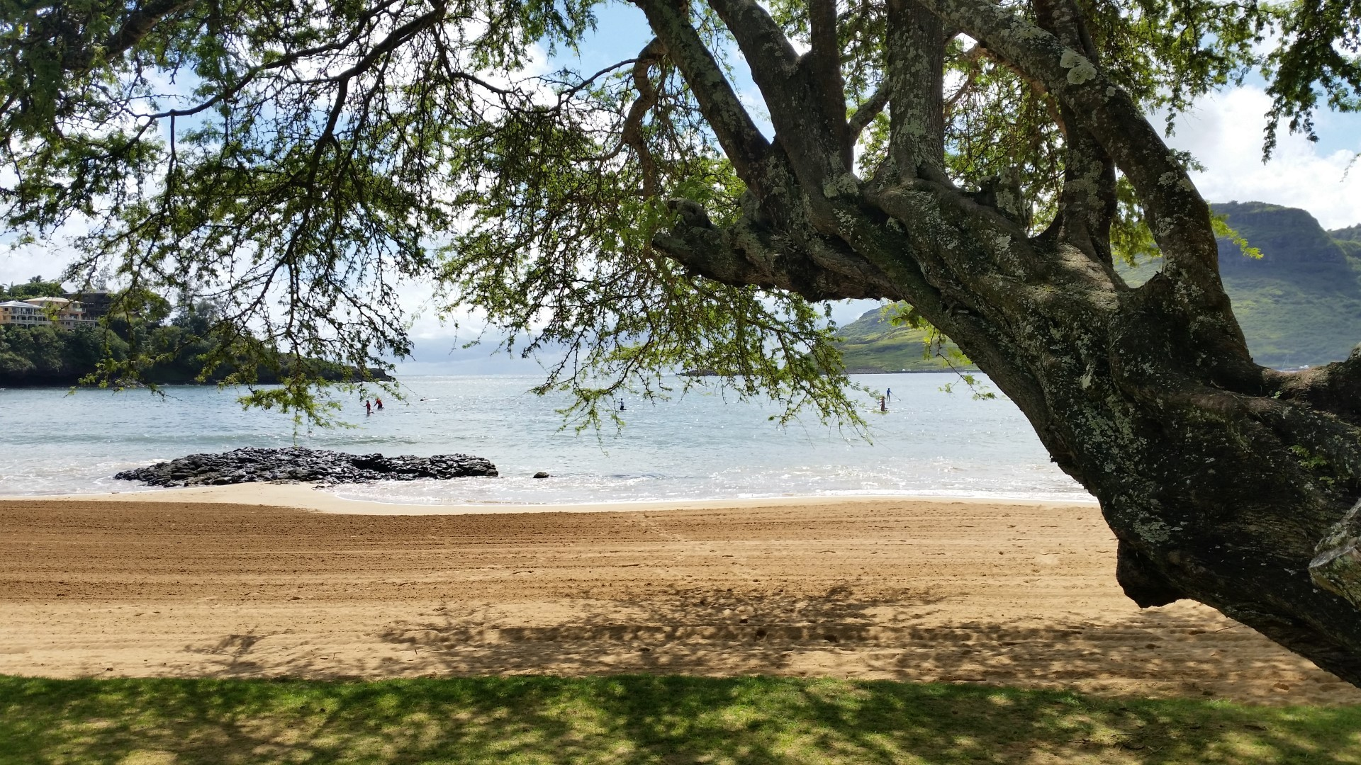Hawaii Tag 26: Kalapaki Beach, Poipu Beach (2014-10-21)