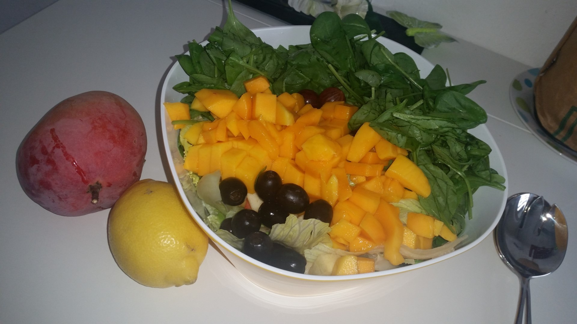 Fruity Summer Salad With Gooseberries