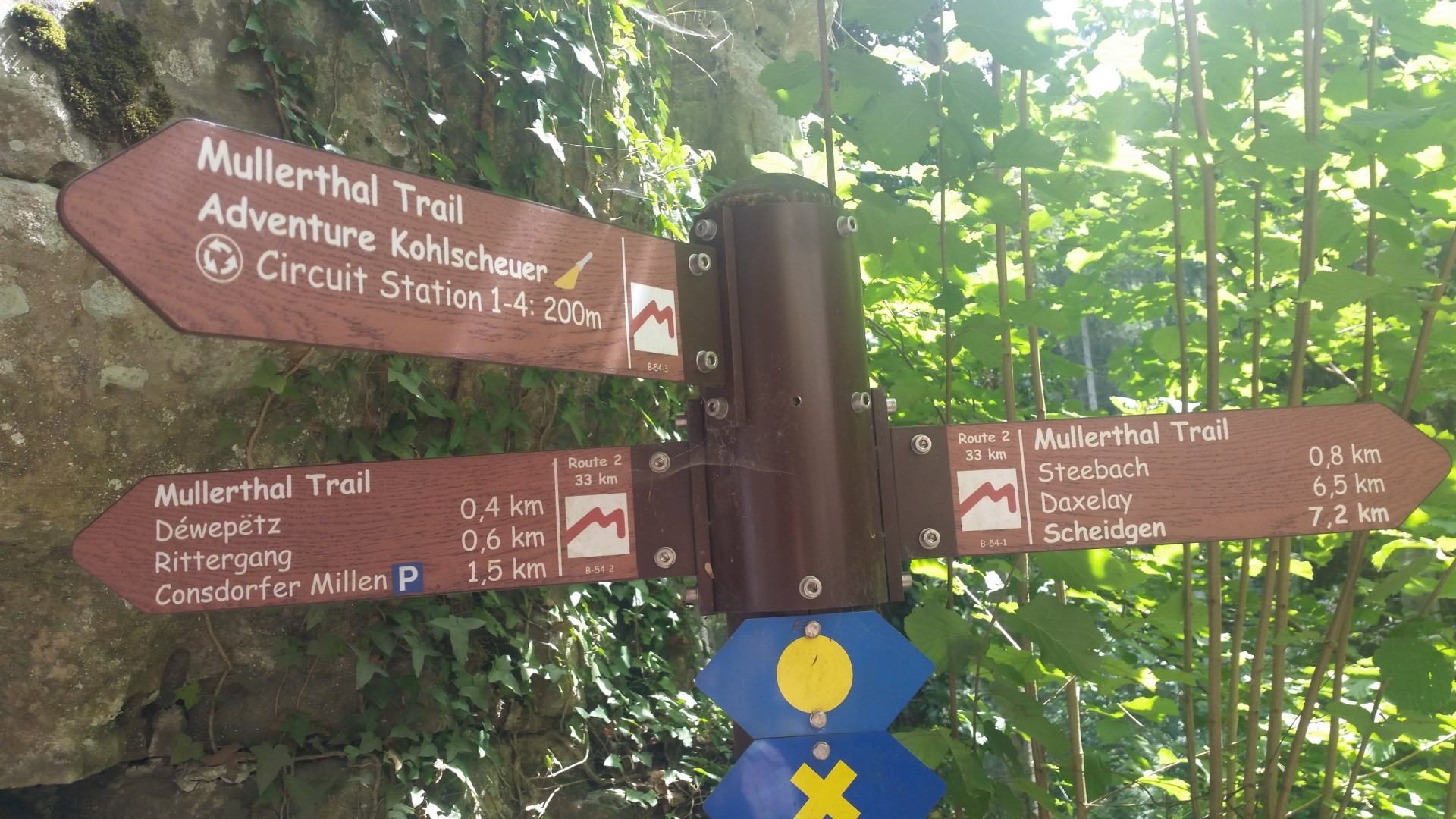 Müllerthal Trail Route 2 Luxembourg (2015-07-24)