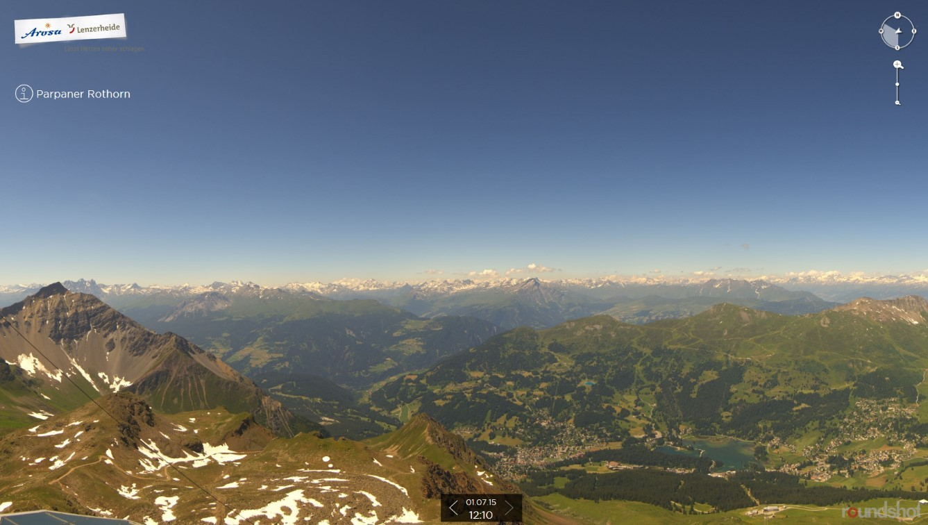 Webcam Lenzerheide Rothorn