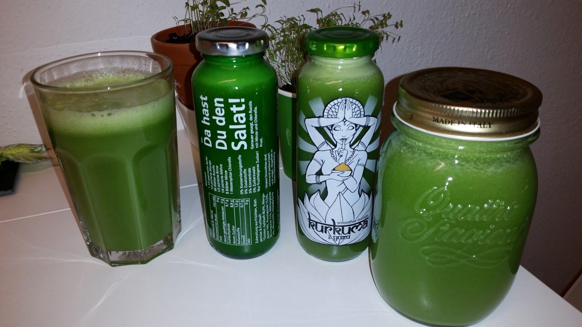 The Mean Green – Mein Lieblingssaft