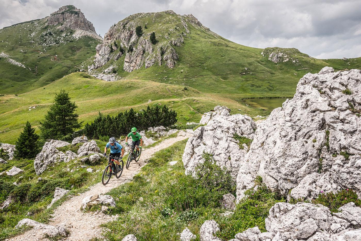 Gewinne ein CUBE Mountainbike AIM SL