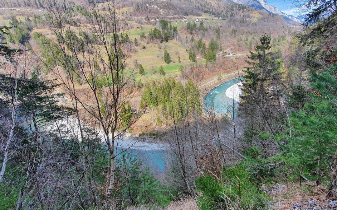 Rheinschlucht Wanderung Bonaduz