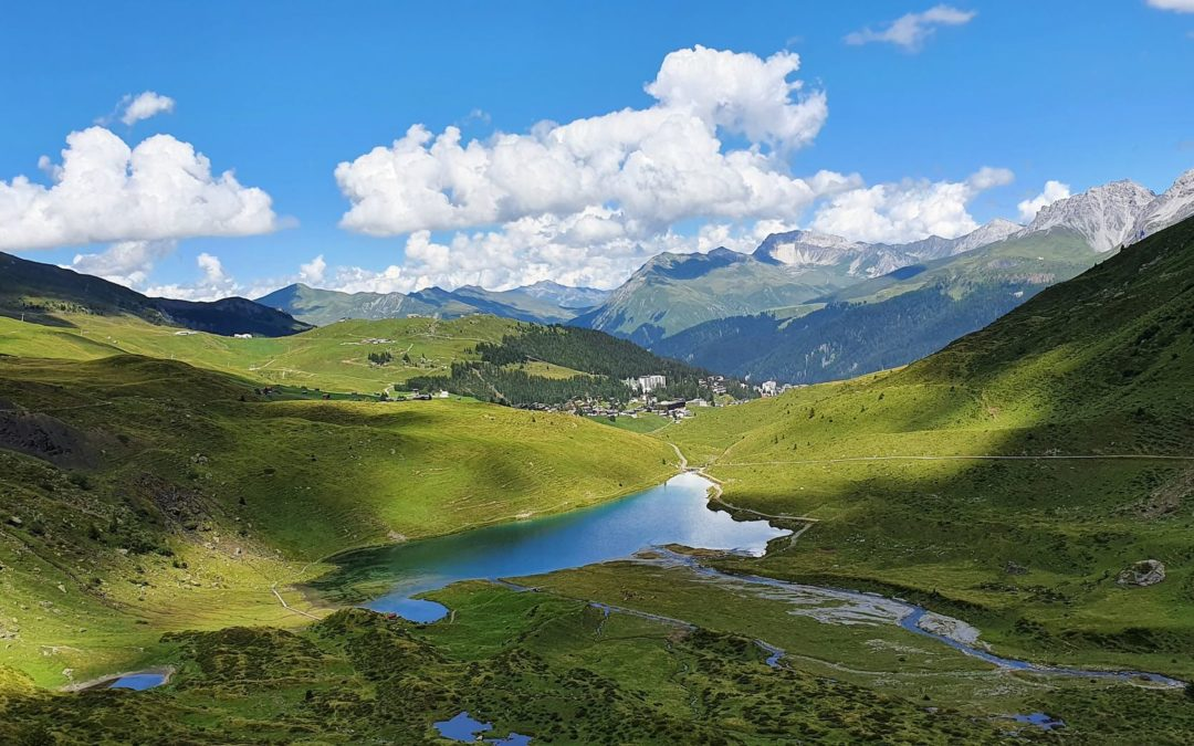 Zwei Seen Wanderung Arosa